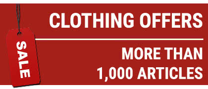 Discover more than 1,000 hunting clothing offers!