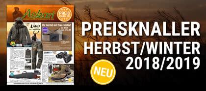 Neu: Unsere Preisknaller Herbst/Winter 2018/2019! Jetzt stöbern!