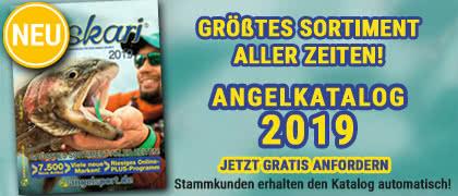 Jetzt GRATIS unseren Angel-Katalog 2019 bestellen!