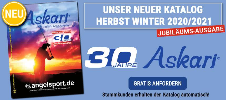 Unser neuer Angelkatalog Herbst/Winter 2020/2012 ist da! Jetzt GRATIS anfordern!