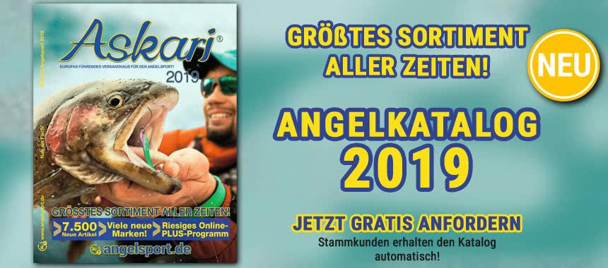Jetzt GRATIS unseren NEUEN Angel-Katalog 2019 bestellen!