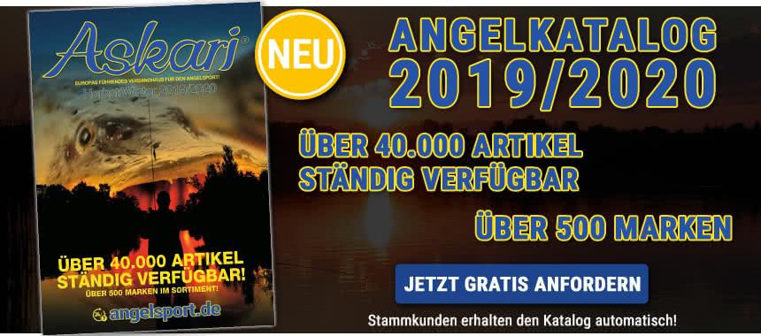 Jetzt GRATIS unseren NEUEN Angel-Katalog 2019/2020 bestellen!