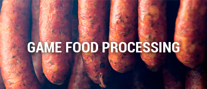 Game Food Processing