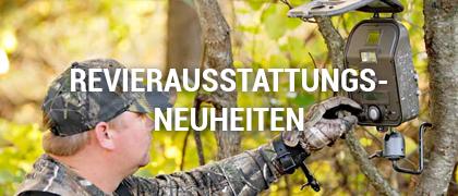 Jagd Revierausstattungs-Neuheiten