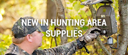 New in Hunting Area Supplies