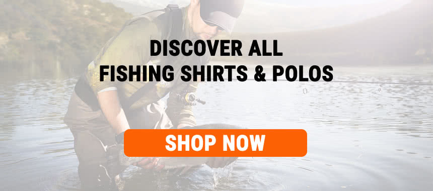 Discover all fishing shirts and polos now!