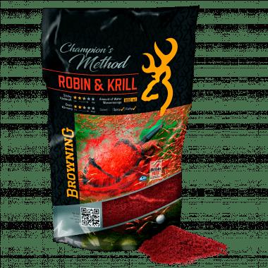 Browning Friedfischfutter Champion´s Method (Robin & Krill)