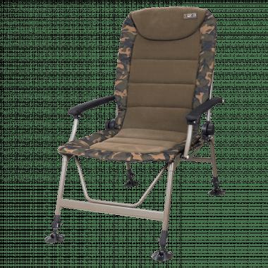 Fox Carp Angelstuhl R3 Camo Recliner Chair