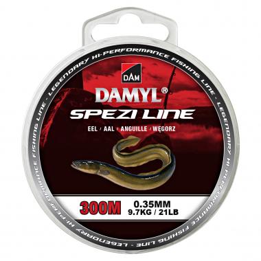 DAM Angelschnur Damyl Spezi Line Aal (braun)