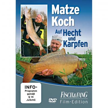 DVD 'Auf Hecht und Karpfen' von Matze Koch