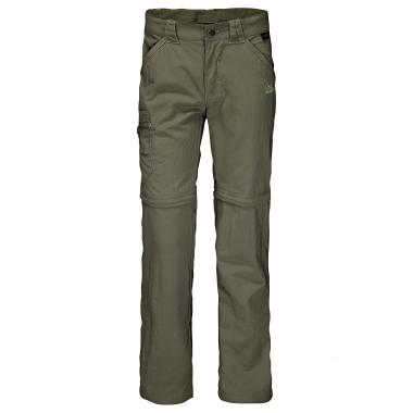 Jack Wolfskin Kinder Zip Off Pants Safari