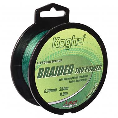 Kogha Angelschnur Braided Tru Power Allround (grün)