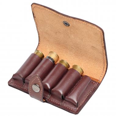 Leder-Schrotpatronentasche