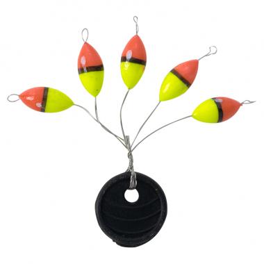 Perca Trout Pilotposen-Set Stick, oval