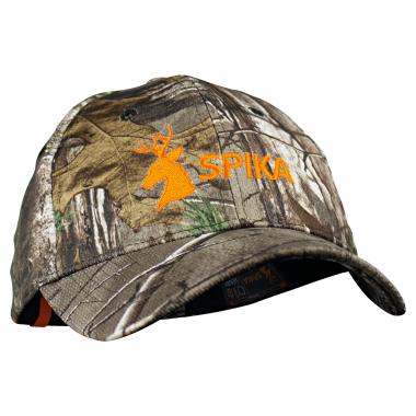 Spika Unisex Kappe (Camo/orange)