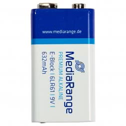Alkaline Media Range Block 6LR61 (9 Volt Blockbatterie)