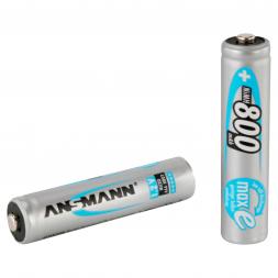 Ansmann Akkubatterie maxE Micro AAA/HR03