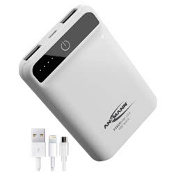 Ansmann Powerbank 10.8 mini white