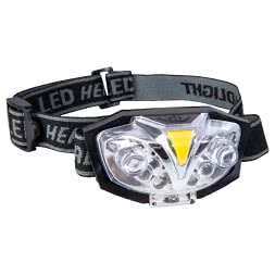 Aquantic Kopflampe UV - red - white Headlamp