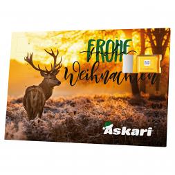 Askari Adventskalender Jagd