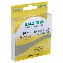 Balzer Angelschnur Iron Line 8 (gelb, 150 m)