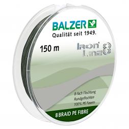 Balzer Angelschnur Iron Line 8 (grün, 150 m)