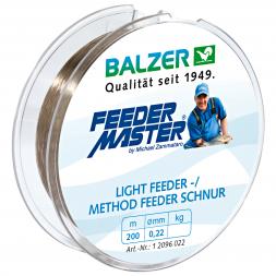 Balzer Angelschnur Lightfeeder-/ Method Feeder (braun, 200 m)