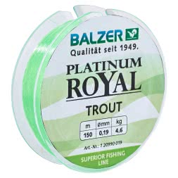 Balzer Angelschnur Patinium Royal Trout (chartreuse)