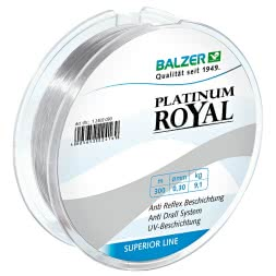 Balzer Angelschnur Platinum Royal (transparent)