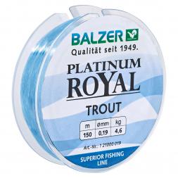 Balzer Angelschnur Platinum Royal Trout (blau)