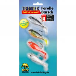 Behr Softbait Raubfisch-Sortiment 1 (Forelle/Barsch)