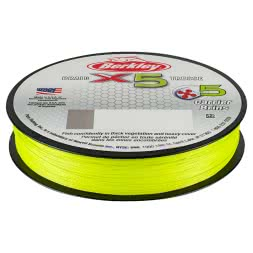 Berkley Angelschnur X5 Braid (Flame Green, 150 m)