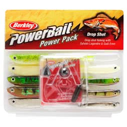 Berkley Komplett-Sortiment Powerbait Drop Shot