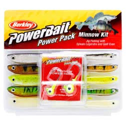 Berkley Komplett-Sortiment Powerbait Minnow Kit Set