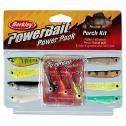 Berkley Komplett-Sortiment Powerbait: Perch Pulse/Minnow Kit
