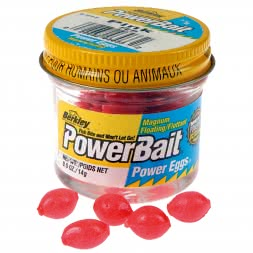 Berkley Softbait PowerBait® Power Eggs® Floating Magnum (Pink)