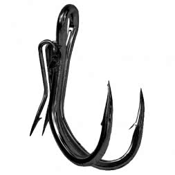 Black Cat Double Hook - Haken