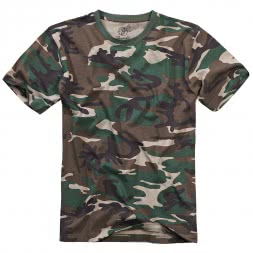 Brandit Herren T-Shirt Premium (woodland)