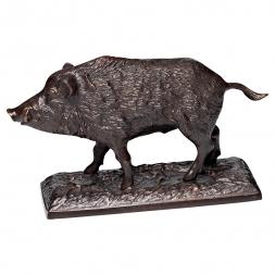 Bronze Skulptur WILDSCHWEIN