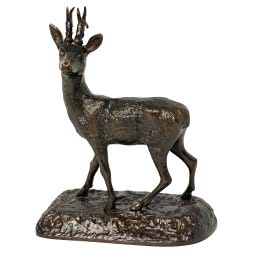 Bronze-Skulptur REHBOCK
