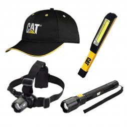 CAT Set Lampen + Mütze