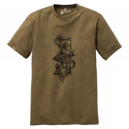 C.I.T Herren Jagd T-Shirt (grün)