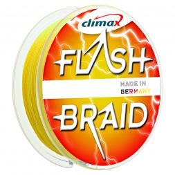 Climax Angelschnur Flash Braid (gelb)