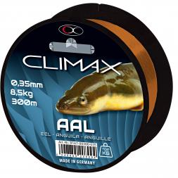 Climax Zielfischschnur Aal (braun)