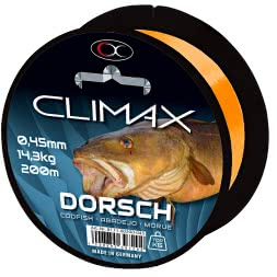 Climax Zielfischschnur Dorsch (gelb)