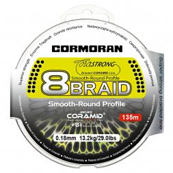 Cormoran Angelschnur CoraStrong 8-Braid (grün, 135 m)