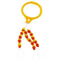 Cormoran Silikonstopper gelb/rot