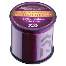 Daiwa Angelschnur Infinity Super Soft (purple, 3.000 m)