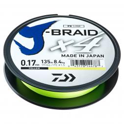 Daiwa Angelschnur J-Braid X4 (gelb)