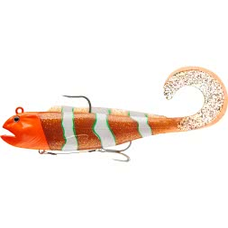 Daiwa Gummifisch D-Wolf Curly (Orange Psycho)